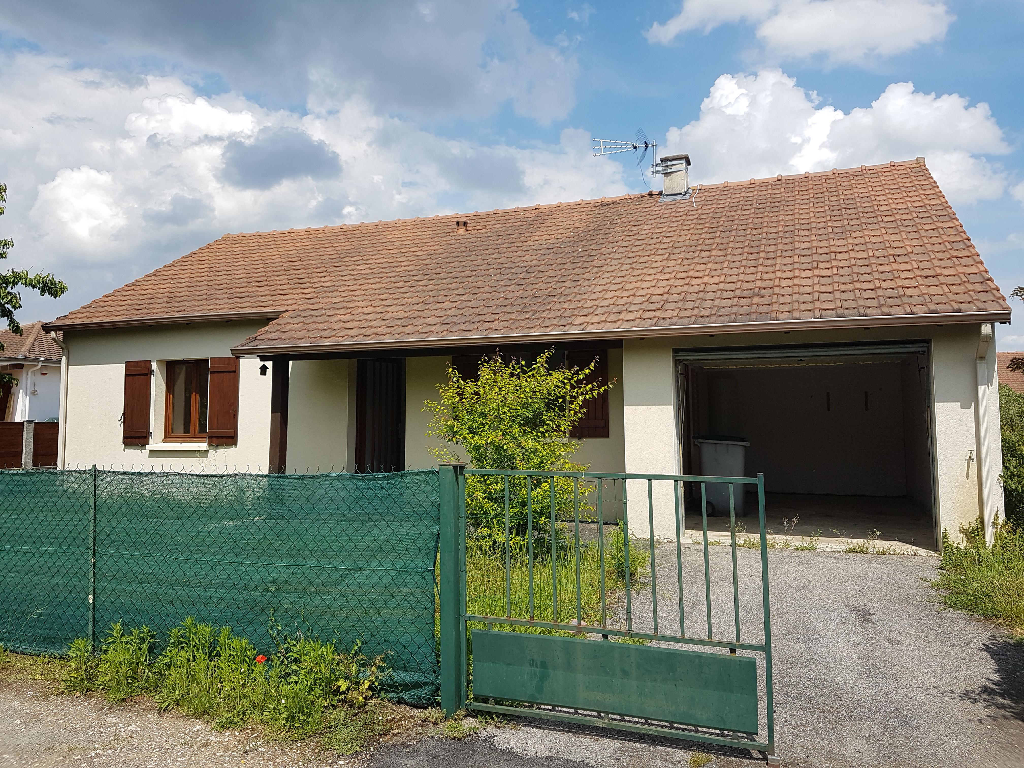 Plain pied de 75 m targe agence principale for Taxe fonciere garage prix