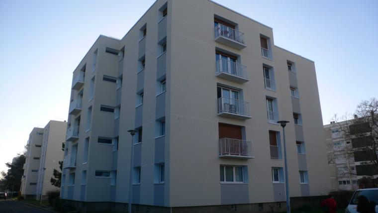 APPARTEMENT F3 DE 72 M² «RESIDENCE DESCARTES» CHÂTELLERAULT Réf 2295
